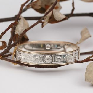 The Celtic Warrior Bangle
