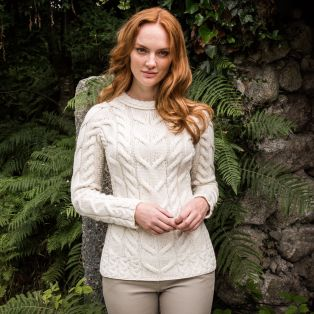 The Ardara Cable Donegal Sweater