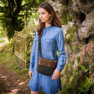 The Tweed Leather Mini Bag