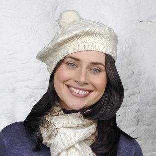 Handknitted Adults Beret