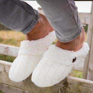 Mens Super Cozy Slippers