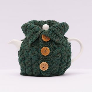 Aran Cardigan Tea Cozy