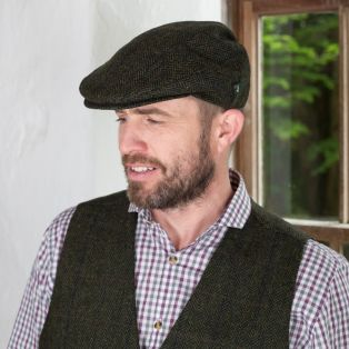 Irish Wool Trinity Flat Cap