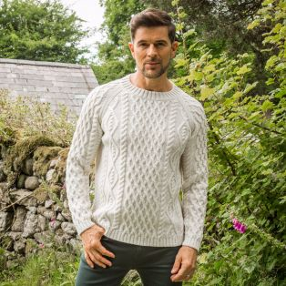 Men's Sherkin Aran Sweater