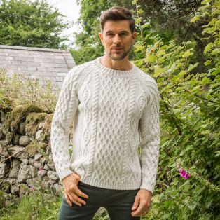 Men's Sherkin Aran Sweater