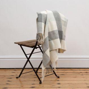 Foxford Dublin Check Throw Blanket