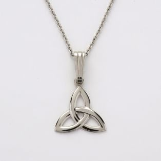 Sterling Silver Trinity Knot Celtic Pendant