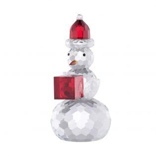 "Galway Crystal Snowman 5.5"""