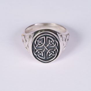 Gents Celtic Signet Ring
