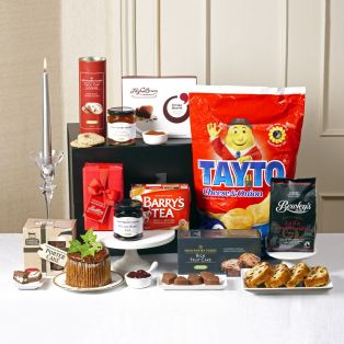 The Celtic Clover Irish Hamper Tayto & Barry's Tea