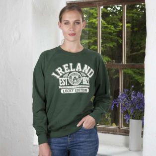 Women's Green Ireland Sweatshirt