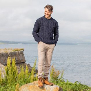 The Sperrin Aran Sweater