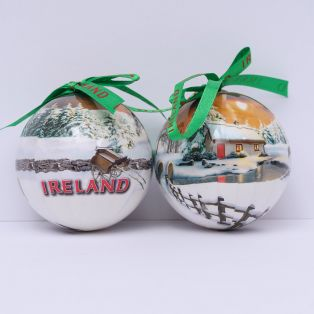 Irish Winter Scene Christmas Decorations