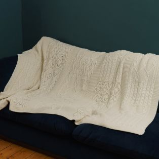 King Size Aran Throw