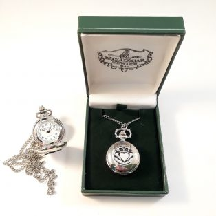 Mullingar Pewter Claddagh Ring Pendant Watch