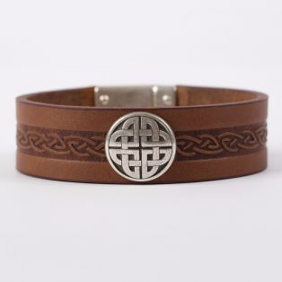 The Craig Leather Cuff Bracelet