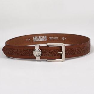 Ladies' Asgard Celtic Leather Belt