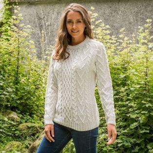 Ladies' Leinster Aran Sweater