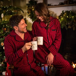 Tartan Pyjama Ladies Set