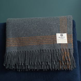 Mc Nutt Luxury Cashmere Lambswool Throw
