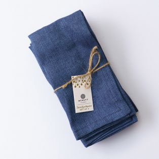 Mc Nutt Denim  Linen Napkins