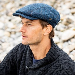 Men's Irish Kerry Cap Blue