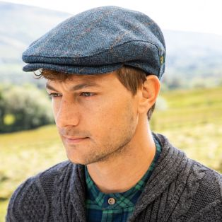 Mens Blue Trinity Cap