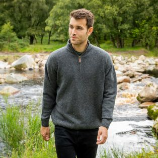Mens Burren Aran Sweater