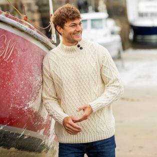 Mens Glengarriff Aran Sweater