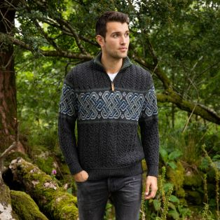 Mens Newgrange Celtic Sweater