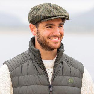 Irish Tweed Driving Cap
