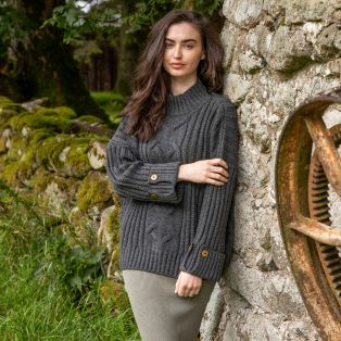 Paul Costelloe Mulranny Aran Sweater