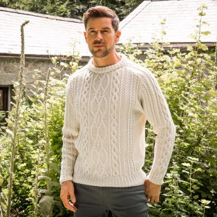Men's Munster Aran Sweater