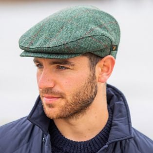 Trinity Tweed Irish Flat Cap