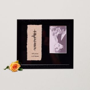 Ogham Love Forever Wedding Picture