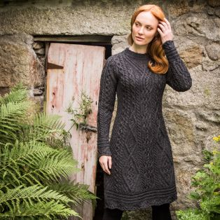The Skellig Aran Dress