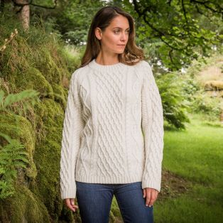 Ladies' Sherkin Aran Sweater
