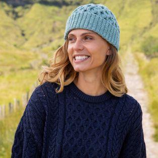 Womens Cozy Aran Hat