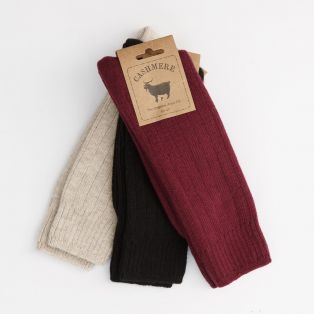 Cashmere Blend Men's Socks