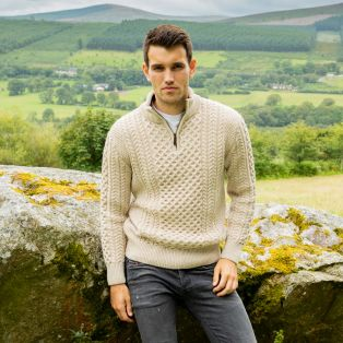 Dunmore Parsnip Aran Sweater