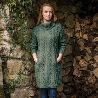 The Dunloe Aran Coat