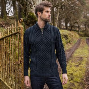 The Dunmore Aran Sweater