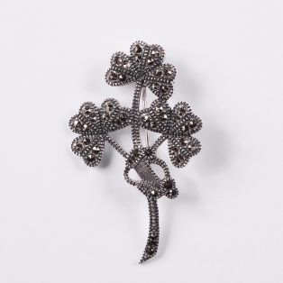 Irish Shamrock Brooch
