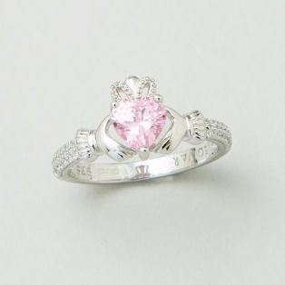 The Claddagh Birthstone Ring October