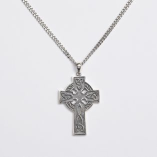 Mens Celtic Cross Pendant