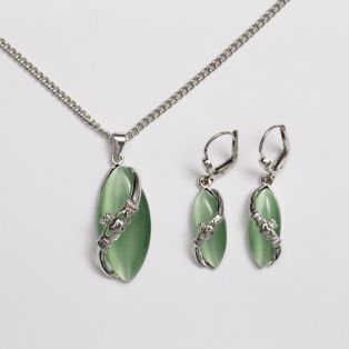 Claddagh Jewelry Set