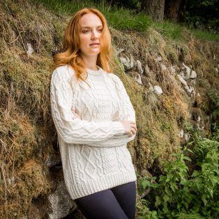 Ladies' Ulster Aran Sweater