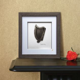 Wild Goose Framed Irish Harp