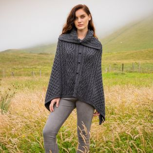 The Tullagh Aran Poncho