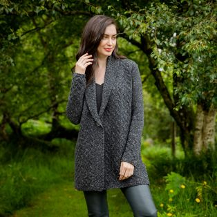 Womens Adare One Button Cardigan